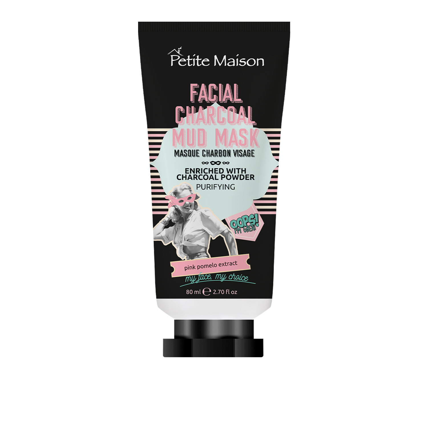 Petite Maison Facial Charcoal Mud Mask