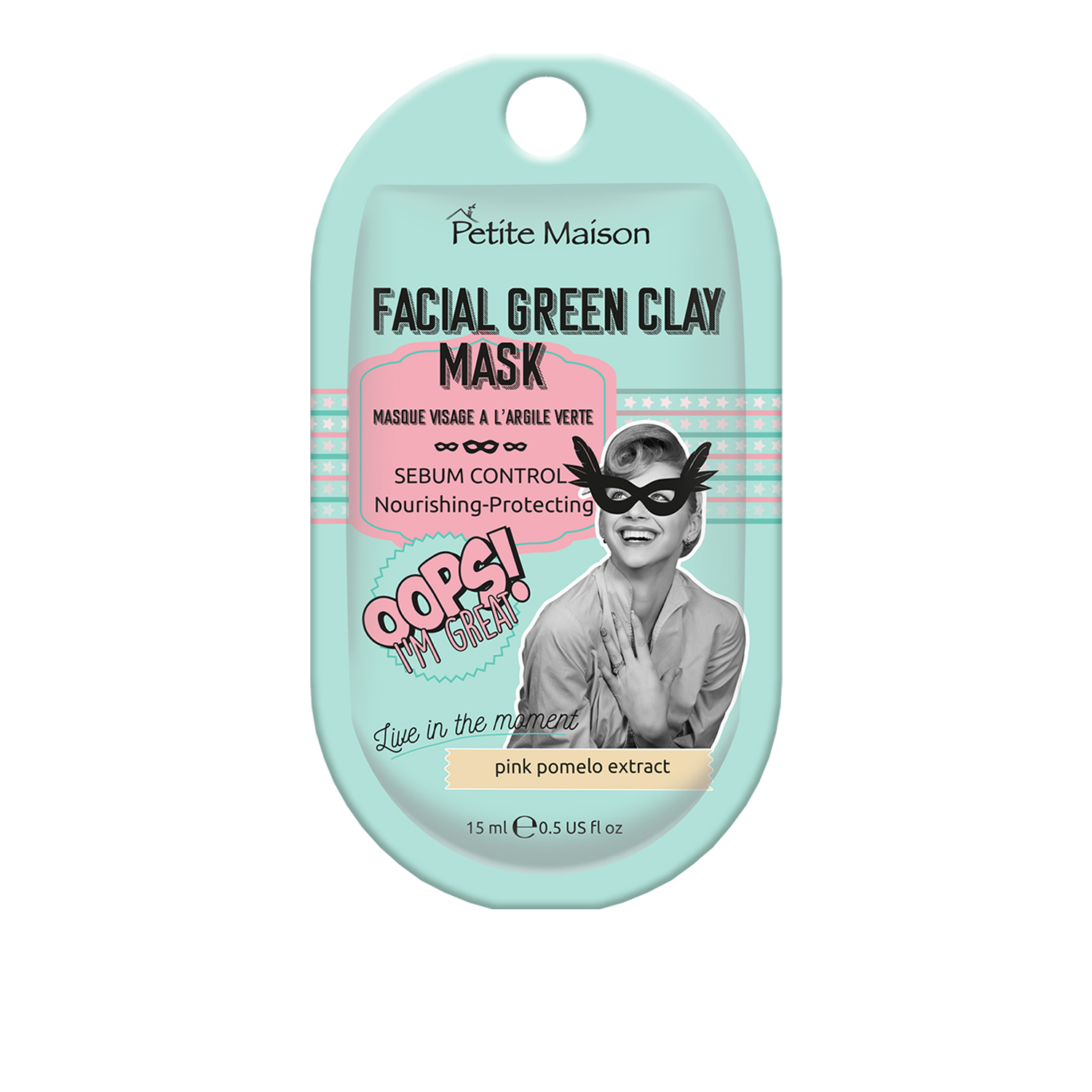 Petite Maison Facial Green Clay Mask Mini