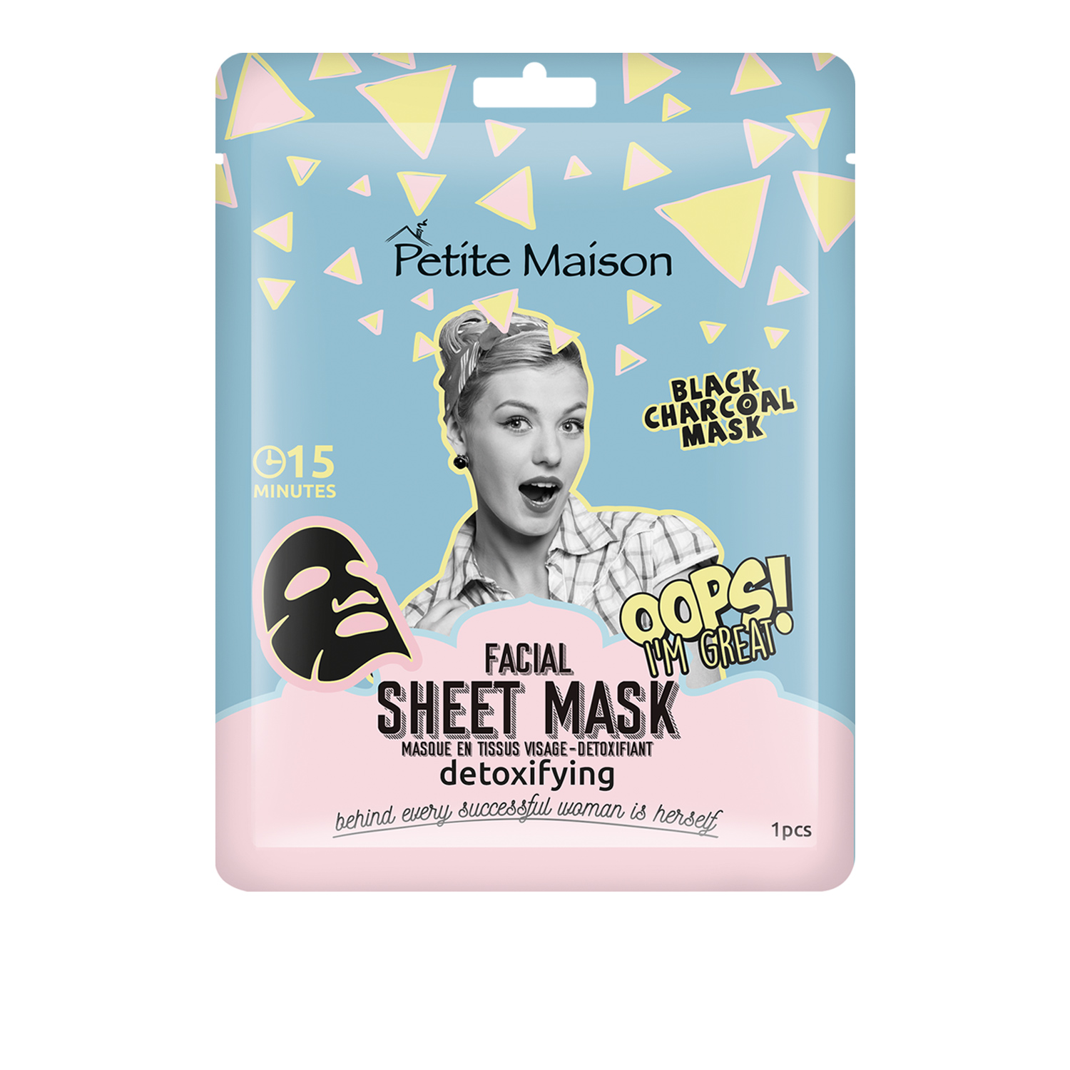 Petite Maison Sheet Mask Detoxifying