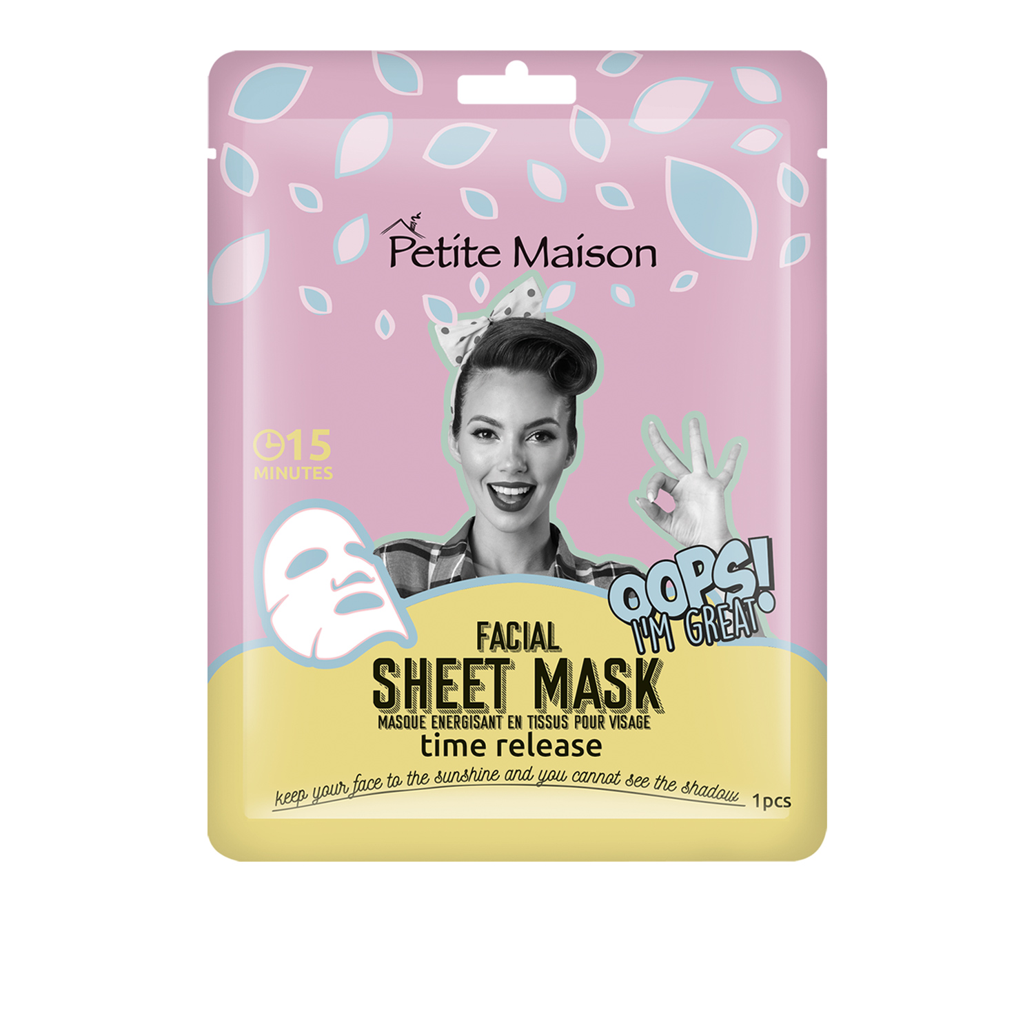 Petite Maison Sheet Mask Time Release